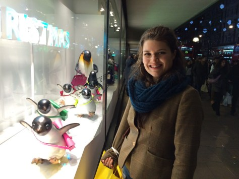 John Lewis wins with the penguin display this year
