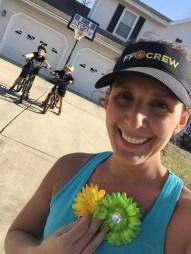 Bike riders and running = perfect Spring activities