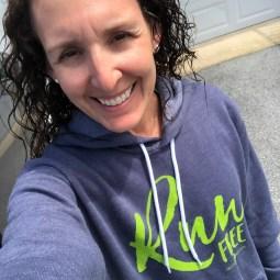 This sweatshirt is an instant favorite! Run Free ladies!