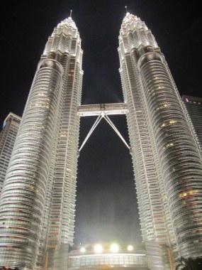 The Petronas Towers.