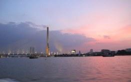 Bangkok at twilight.