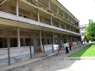 S-21, former high school turned torture chamber and death camp.