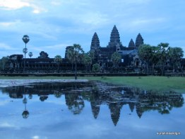 Angkor Wat in the dawn light.
