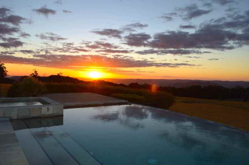 Sunset at Spicers Peak