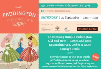 Paddington Boutique Fair