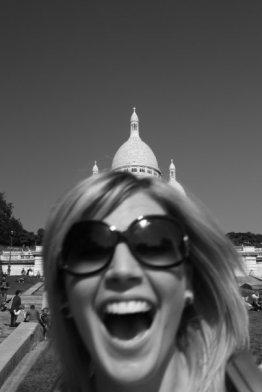 Larking about in Paris
