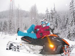 Snowmobiling in Canada