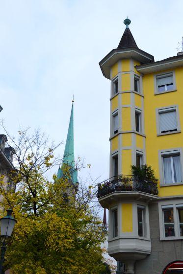 Colourful Zurich