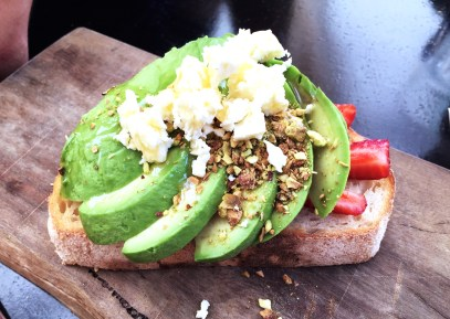 We think Plum Tucker's Avocado on Toast needs to be added to the list!