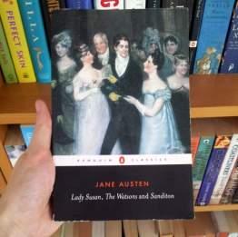 Jane Austen reading challenge