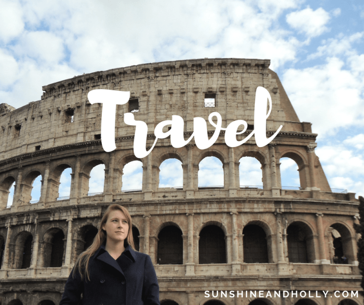 travel | italy | rome | colosseum | sunshineandholly.com