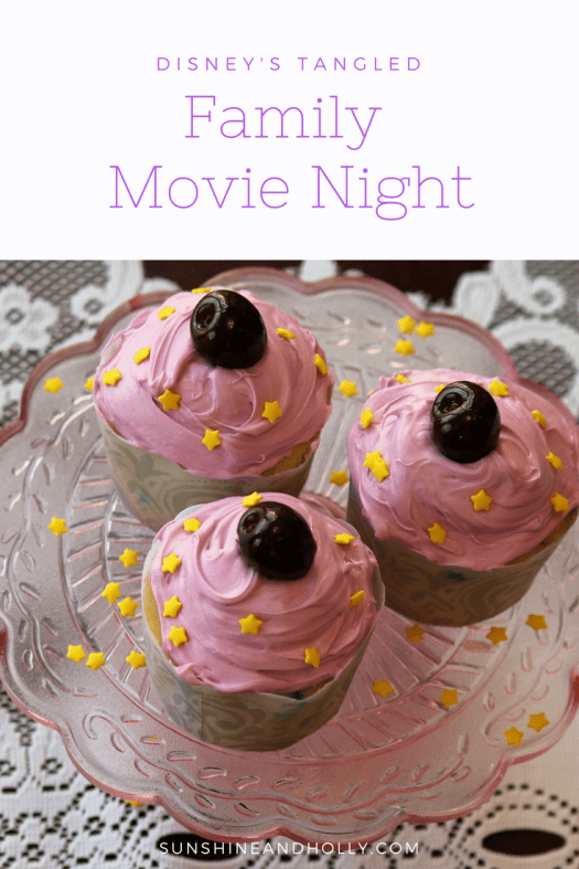 Disney's Tangled Family Movie Night | Themed Recipe and Craft | sunshineandholly.com