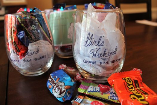 Easy DIY Girls Weekend Gift | sunshineandholly.com | girls trip | moms night out