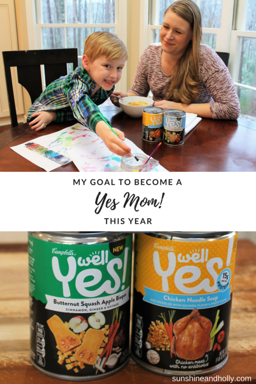 #ad My Goal to Become a Yes-Mom this Year | sunshineandholly.com | #WellYes2018