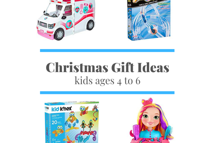 Christmas Gift Ideas for Kids Ages 4 to 6 | sunshineandholly.com | toys for 6 year old boys | toys for 4 year old girls