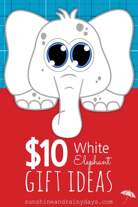 10 white elephant gift