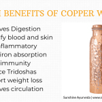 Health Benefits of Copper Water