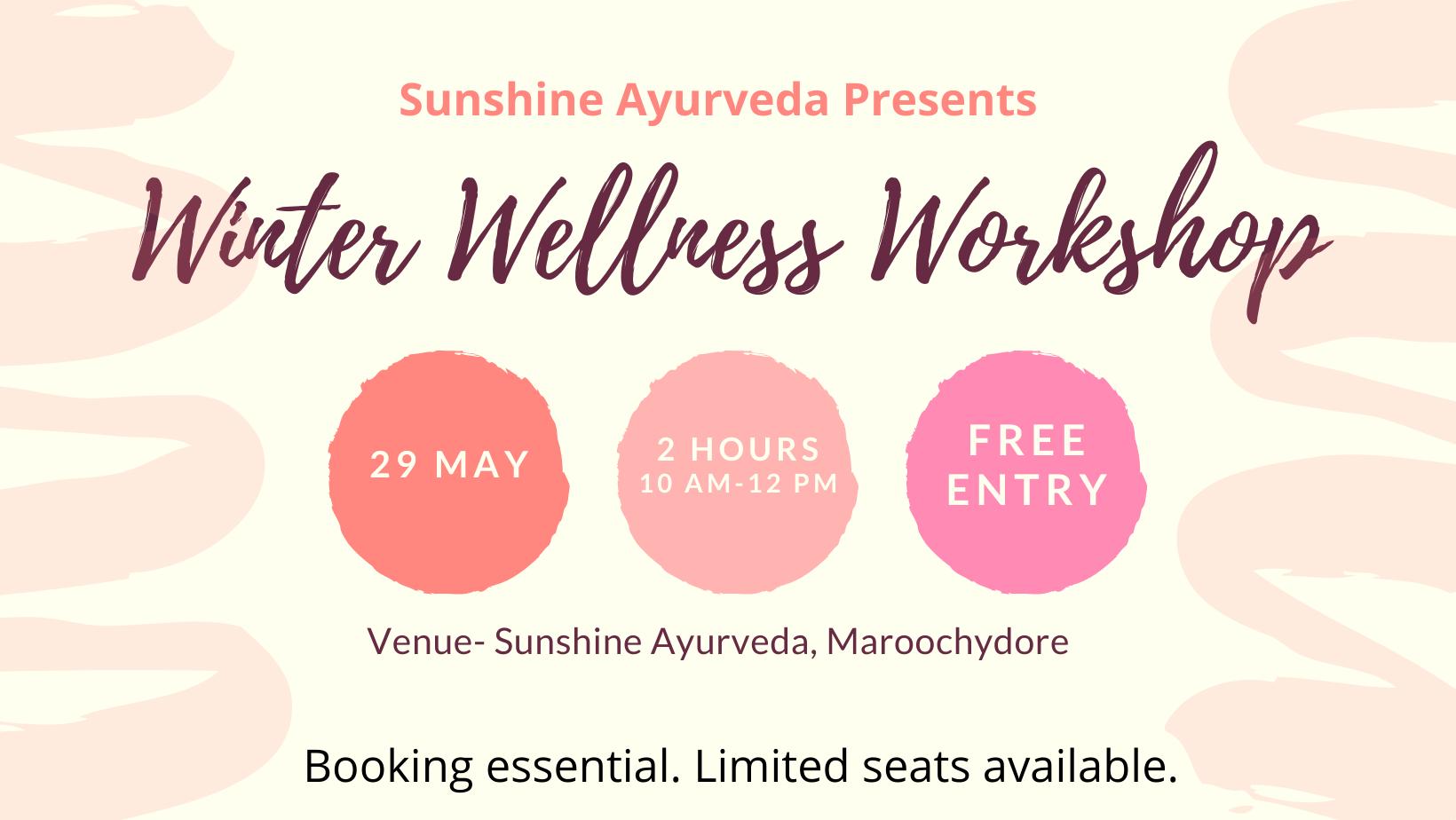 Ayurvedic Winter Wellness Workshop – Free Event