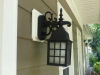 Outdoor Light Mounting Block. norandex sterling deluxe ...