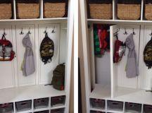 Transform Your Coat Closet into a Mud Room   Sunshine Dad