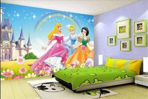 disney painting wallpapers bedroom barbie interior children designs wall 3d walls childrens kid decor chennai murals colorful night papers interiorartdesigning