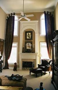 Window Treatments for Draping Two-Story Windows