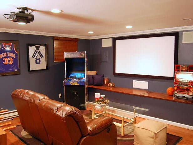 leather office chairs australia hickory white design your man cave with custom window treatments and furniture