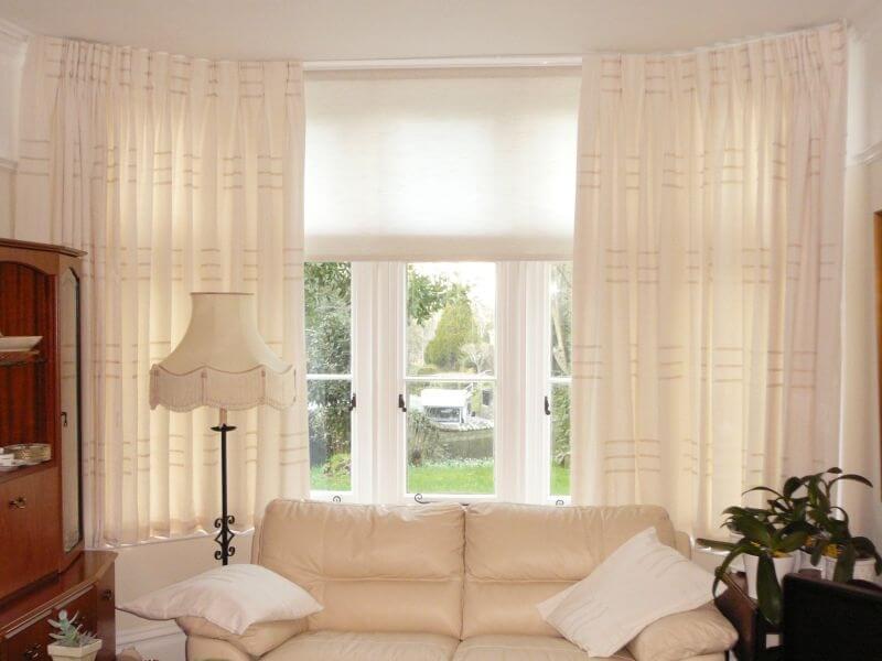 Motorized Window Treatments Best Option for Bay Windows