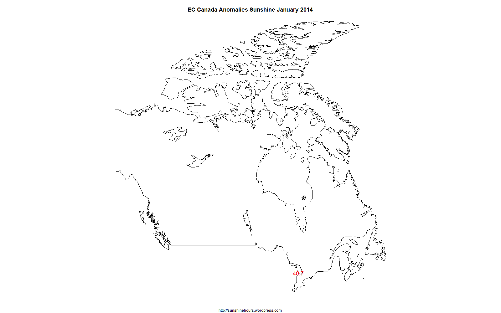 The Sad State of Environment Canada's Sunshine Data