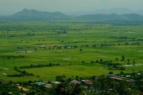 Mandalay - Looking NW from Mandalay Hill