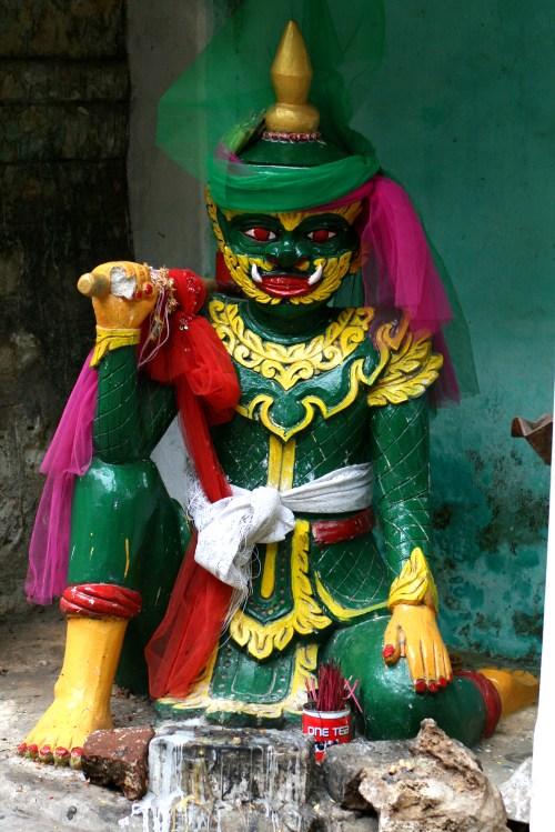 Monkey Temple Art