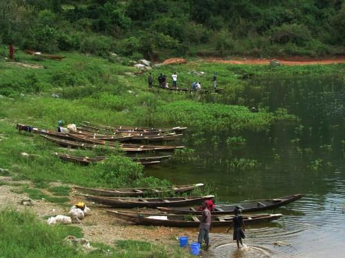Usman Dam.Boaters