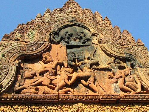 Banteay Srei Carvings8