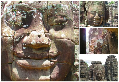 Collage.Faces Bayon