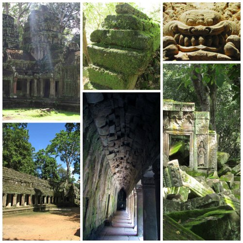 Collage.Ta Prohm