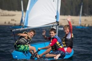 Sailing at Camp
