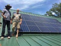 Solar Panel Energy System Installation Houston Texas Team Photo
