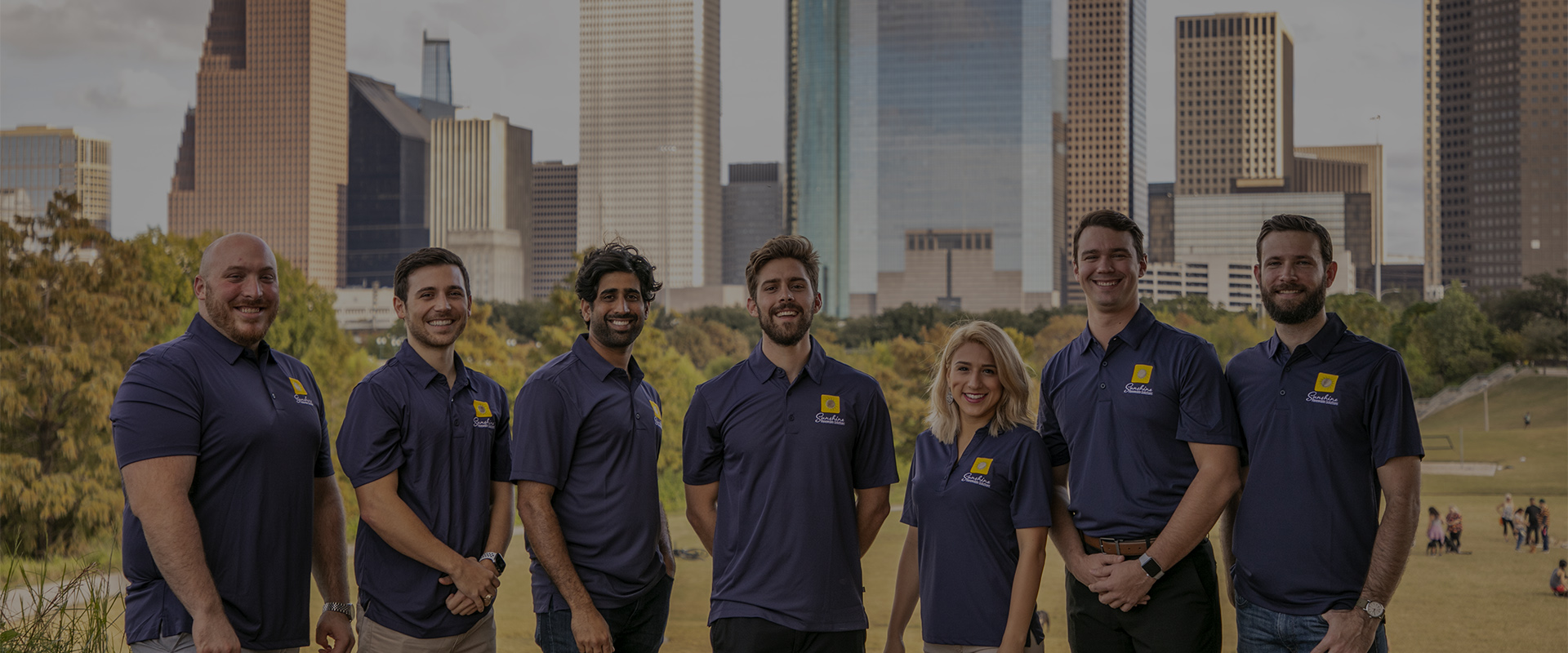Meet our solar install team header image downtown houston team photo