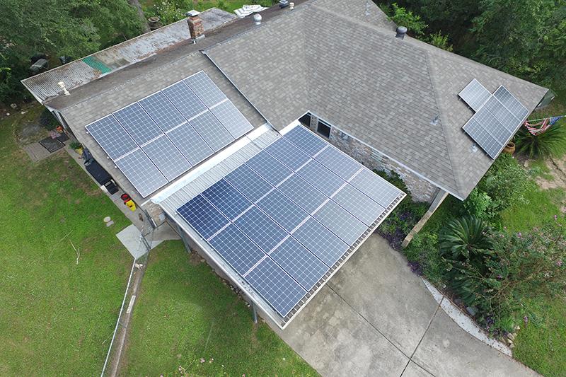 Solar Install in Spring