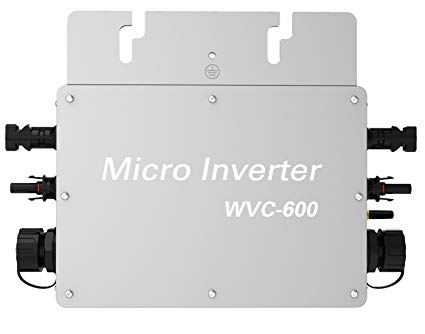 ENF Solar WVC-600 Micro Inverter for Solar Panel Energy Home Set up.