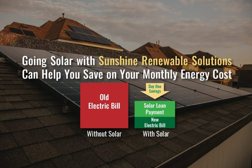 Go Solar with Sunshine Renewable Solutions