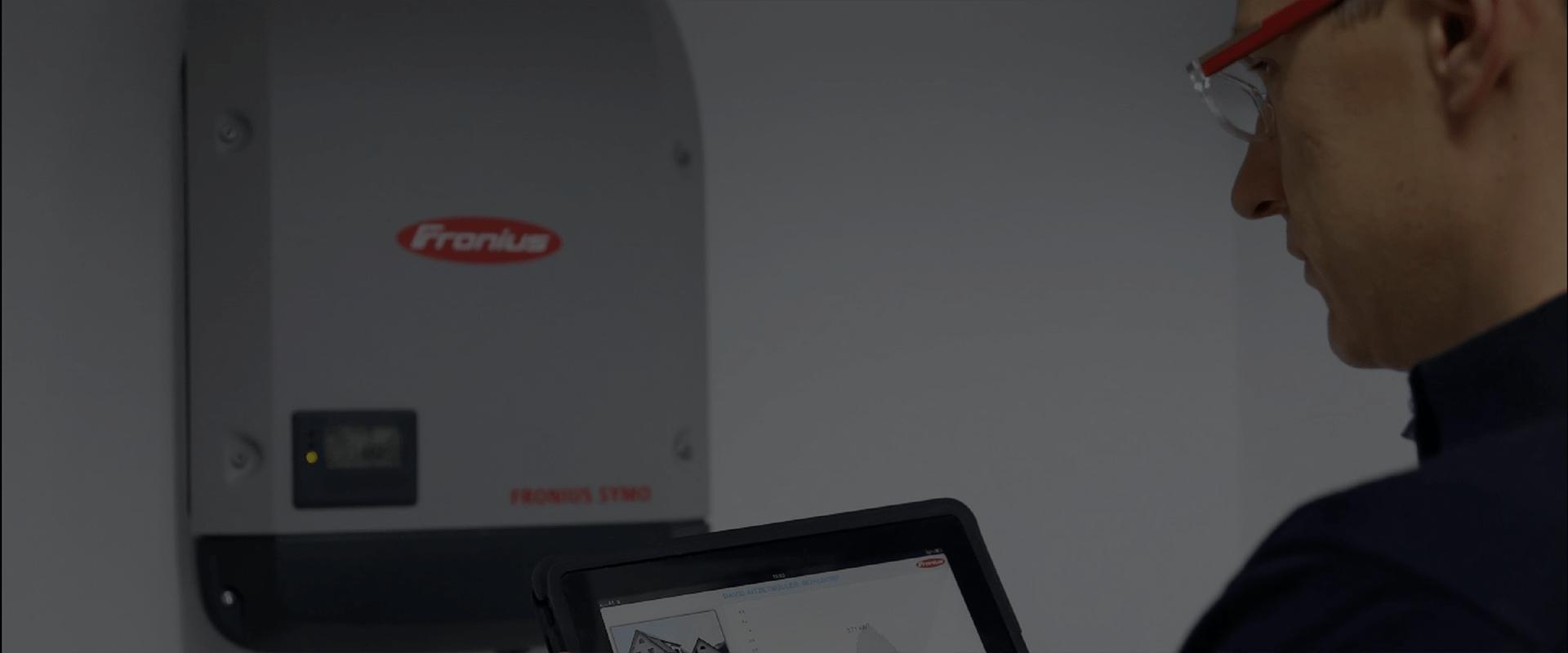 Fronius Solar Inverter Installed
