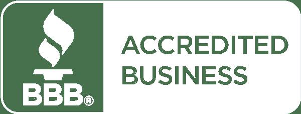 Better Business White Logo