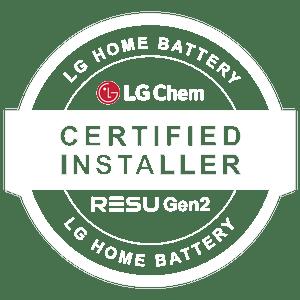 LG Chem Battery Installer Logo-White