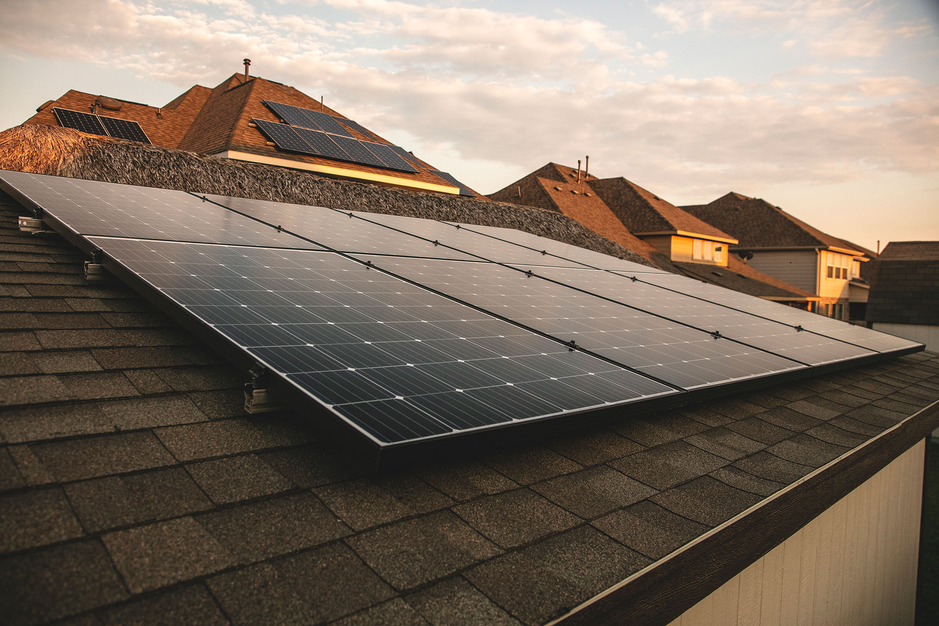 solar on roof in houston