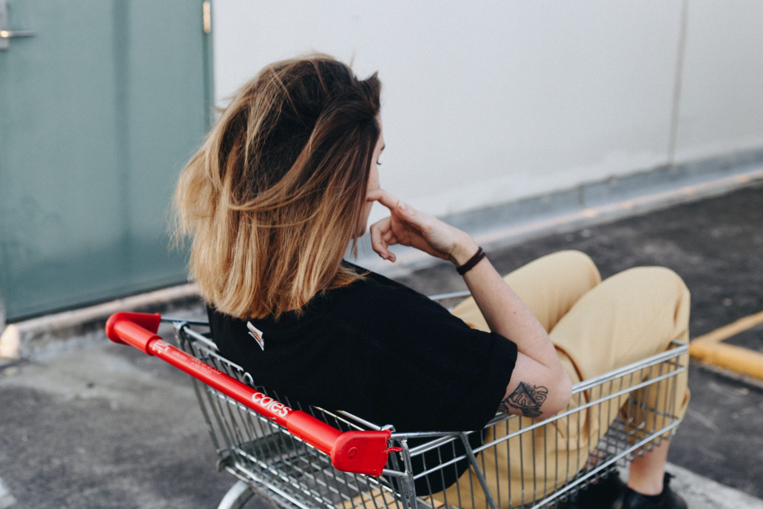 Girl Shopping for Solar Installer