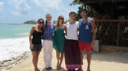 The Gang. From left, Galia, Me, Lisette, Maia, Tudor