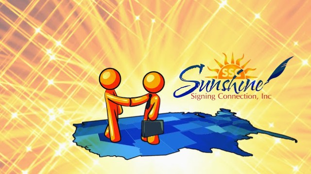 Sunshine Online and Mobile Notary Service