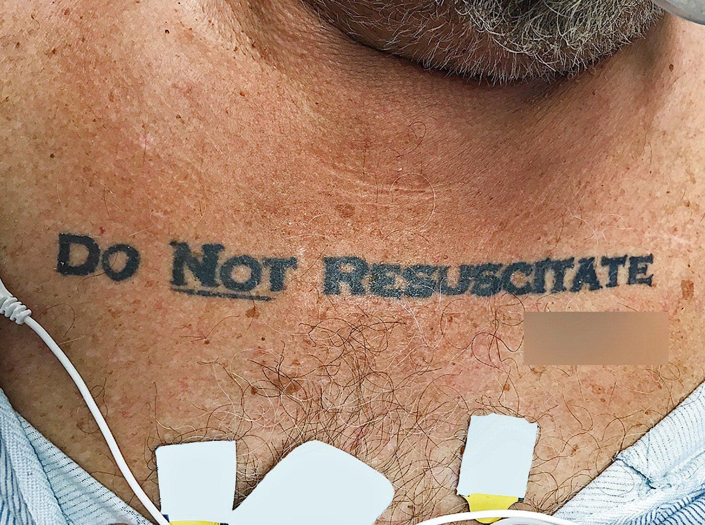 DNR Tattoo