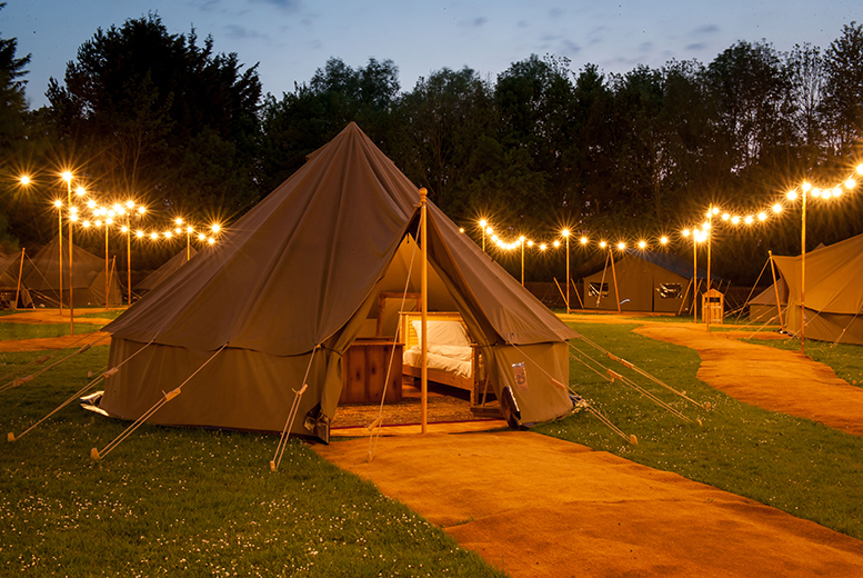 Chessington Glamping Break with Theme Park Entry just 129